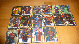 Trading Cards FC BARCELONA - Trading-Karten