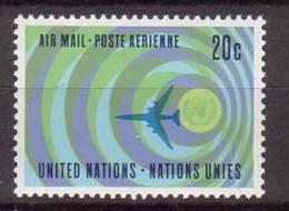 Vereinte Nation , UNO , New York , 1968 , Mi.Nr. 202 ** / MNH - New York -  VN Hauptquartier