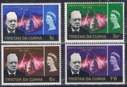 K 859 TRISTAN DA CUNHA  X  YVERT NRS 89/92  ZIE SCAN - Tristan Da Cunha