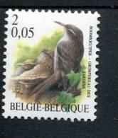 213 437 305 BELGIE POSTFRIS MINT NEVER HINGED EINWANDFREI  OCB 2919 VOGELS BIRDS BUZIN - Bélgica