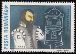 ROMANIA - Scott #C278 1st Moon Landing (*) / Used Stamp - Airmail