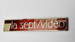 Pin´s La Sept Vidéo - Badges