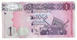 Libya 1 New Dinar 2013 UNC - Libya