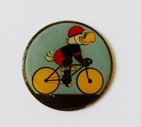 Pin's Oiseau Cycliste - 37R - Autres