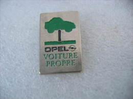 Pin´s Automobiles OPEL, Voitures Propres - Opel