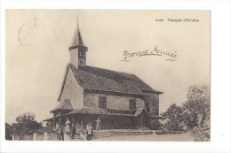 13584 -  Bonne Année  Temple D´Ursins - VD Vaud