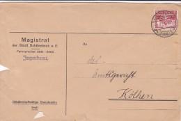 DEUTSCHES REICH 1931 MAGISTRAT DER STADT SCHONABECK A. E. COVERS. - Covers & Documents