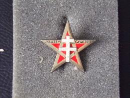 """Insignes Militaire """"1er Régiment Spahis"""" -  Military Badges - RARE - Armée De Terre"""