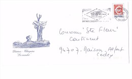 Lettre PAP Pret à Poster En Euro € 69 Decines Charpieu Le Menhir - Entiers Postaux
