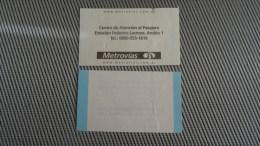 Bus Airpotr Ticket From Argentina - Fahrkarte - Transportation