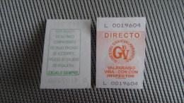 Bus Ticket From Chile - Valparaiso - Fahrkarte - Transportation