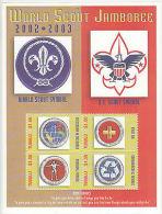 Scouts: Tuvalu Umm Miniature Sheet Of World Scout Jamboree, 2002-03 - Scouting