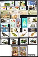 BULGARIA \ BULGARIE - 2014 - Anne Complet 2014 - 33v + 10 Bl Dent. + 12 PF + Carnet - Gratis Postage - Komplette Jahrgänge