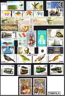 BULGARIA \ BULGARIE - 2014 - Anne Complet 2014 - 33v + 10 Bl Dent. + 12 PF + Carnet - Gratis Postage - Années Complètes