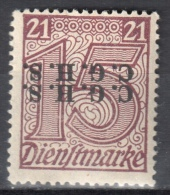 Germany 1920 Upper Silesia - Official Stamps - Mi. 3 - MNH (**) - Postfrisch - Allemagne