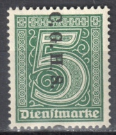 Germany 1920 Upper Silesia - Official Stamps - Mi. 8 - MNH (**) - Postfrisch - Allemagne