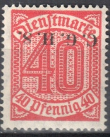Germany 1920 Upper Silesia - Official Stamps - Mi. 13 - MNH (**) - Postfrisch - Allemagne