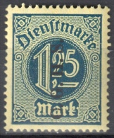 Germany 1920 Upper Silesia - Official Stamps - Mi. 16 - MNH (**) - Postfrisch - Allemagne