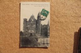 Carte Postale Ancienne Tilloloy Somme Eglise Détruite Guerre 1914- 1916 - Frankreich