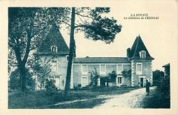 Cpa LA JEMAYE 24 Château De Cressac - Autres Communes