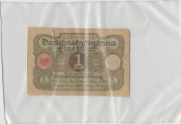 Allemagne  1 Mark 1920 P58 Circulé - [ 3] 1918-1933 : République De Weimar