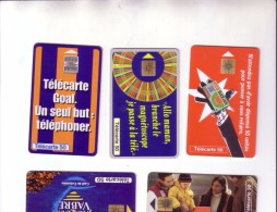 BEL ENSEMBLE DE 531 CARTES FRANCAISES ILLUSTREES   10 CENTIMES PIECE - Télécartes