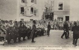 55 - SAINT MIHIEL - Inauguration Du Monument à Ligier-Richier ( 2 Mai 1909) - Inauguration De La Caisse D´Epargne . - Saint Mihiel