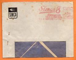 NANTERRE SIMCA 8  SIMCAVITE     1946 Lettre Entière  N° EMA 2124 - Marcophilie (Lettres)