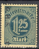 Germany 1920 Upper Silesia - Official Stamps - Mi. 17 - MLH (*) - Mit Falz - Allemagne