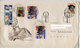 Religion,protestanisme,theologue,Martin Luther,lettre Obliteration 1. Jour M.L 1983,chateau Ville Fortifiée - Unclassified