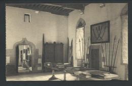 CPA - Vieux Château D' ECAUSSINES LALAING - Grand Hall D'entrée - Nels  // - Ecaussinnes