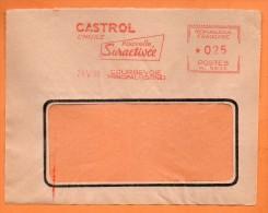 COURBEVOIE  CASTROL L'HUILE NOUVELLE 1960 Devant De Lettre  N° EMA 2136 - Marcophilie (Lettres)