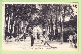 CHATELAILLON PLAGE : Avenue De La Gare. 2 Scans. Edition Jacqueline - Châtelaillon-Plage