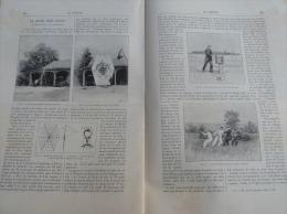 LA NATURE1893N°1040:ERUPTION ETNA 1892/FONTAINE-OZILLAC REFUGE SOUTERRAIN/CERF-VOLANT GEANT/ECLPISE SOLAIRE - Books, Magazines, Comics