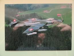 CARTE POSTALE POSTCARD SWISSAIR J-4083 - 1946-....: Modern Tijdperk