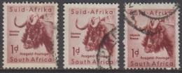 1954 - SOUTH AFRIKA - SG 152 - Connochaets Taurinus - Zuid-Afrika (...-1961)