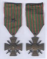 Médaille Croix De Guerre 1914 - 1917 ( Avec Une étoile ) - France