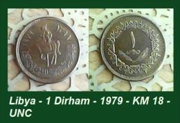 Libya - 1 Dirham - 1979 - KM 18 - UNC - Agouz - Libya