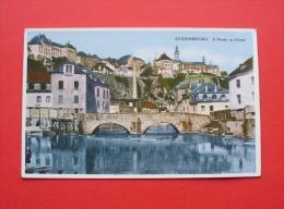 Luxembourg - Ca. 1910 ? - Luxembourg --- L'Alzette Au Grund , Lëtzebuerg Luxemburg --- 59 - Luxembourg - Ville
