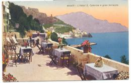 AMALFI HOTEL S. CATERINA E GRAN TERRAZZO VIAGGIATA FP 1946 - Salerno