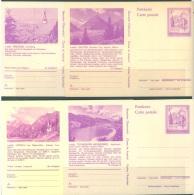 AUSTRIA - 1978 - GANZSACHEN  ENTIERS POSTAUX  - Mi P455-P457  4 CARD -  Lot 13158 - Entiers Postaux