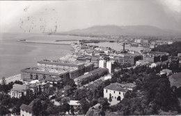 Malaga - Vista Del Puerto Y Paseo Reding (1961) - Málaga