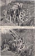 Zur Erinnerung A Den Feldzug 1914/16 Artillerie Soldaten U Schweren Brummer Mörser Haubitze Dicke Berta Kanone Feldpost - Guerra 1914-18