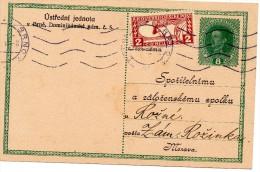 Austria, Brunn 2/Brno 2. #2. 28.X.1918 Uprated 8h Karl Postal Stationery Card To Zam Rozinka - 1850-1918 Empire