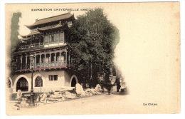 PARIS (75) - Exposition Universelle 1900 - LA CHINE - Expositions