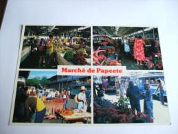 Le Marché De Papeete Est Ouvert Tous Les Jours De 5h à 18h PHOTOGRAPHE ADOLPHE SYLVAIN Tahiti - Tahiti