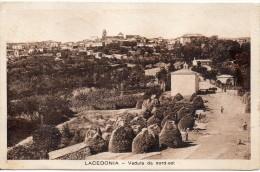 Campania-avellino-lacedonia Veduta Lacedonia Da Nord Est Anni/20 - Italia