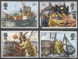 Great Britain. 1981 Fishing Industries. Used Complete Set. SG 1166-1169 - 1952-.... (Elizabeth II)