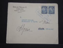 COLOMBIE - Enveloppe Pour La France En 1929 Redirigée En Algérie - A Voir - Lot P14537 - Colombie
