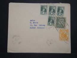 COLOMBIE - Enveloppe Pour La France En 1938 - Aff. Plaisant - A Voir - Lot P14538 - Colombie